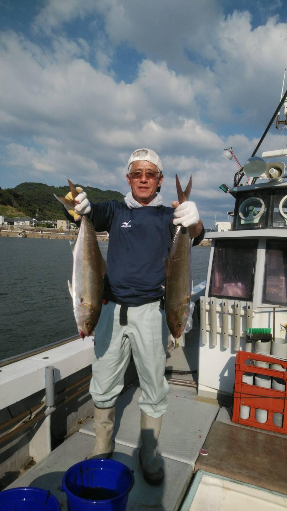 10月8日出船!!野間沖タイラバ・ジギング