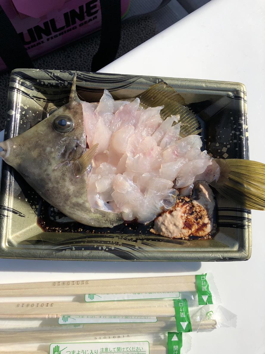 カワハギ出船(レクリエーションチャーター)