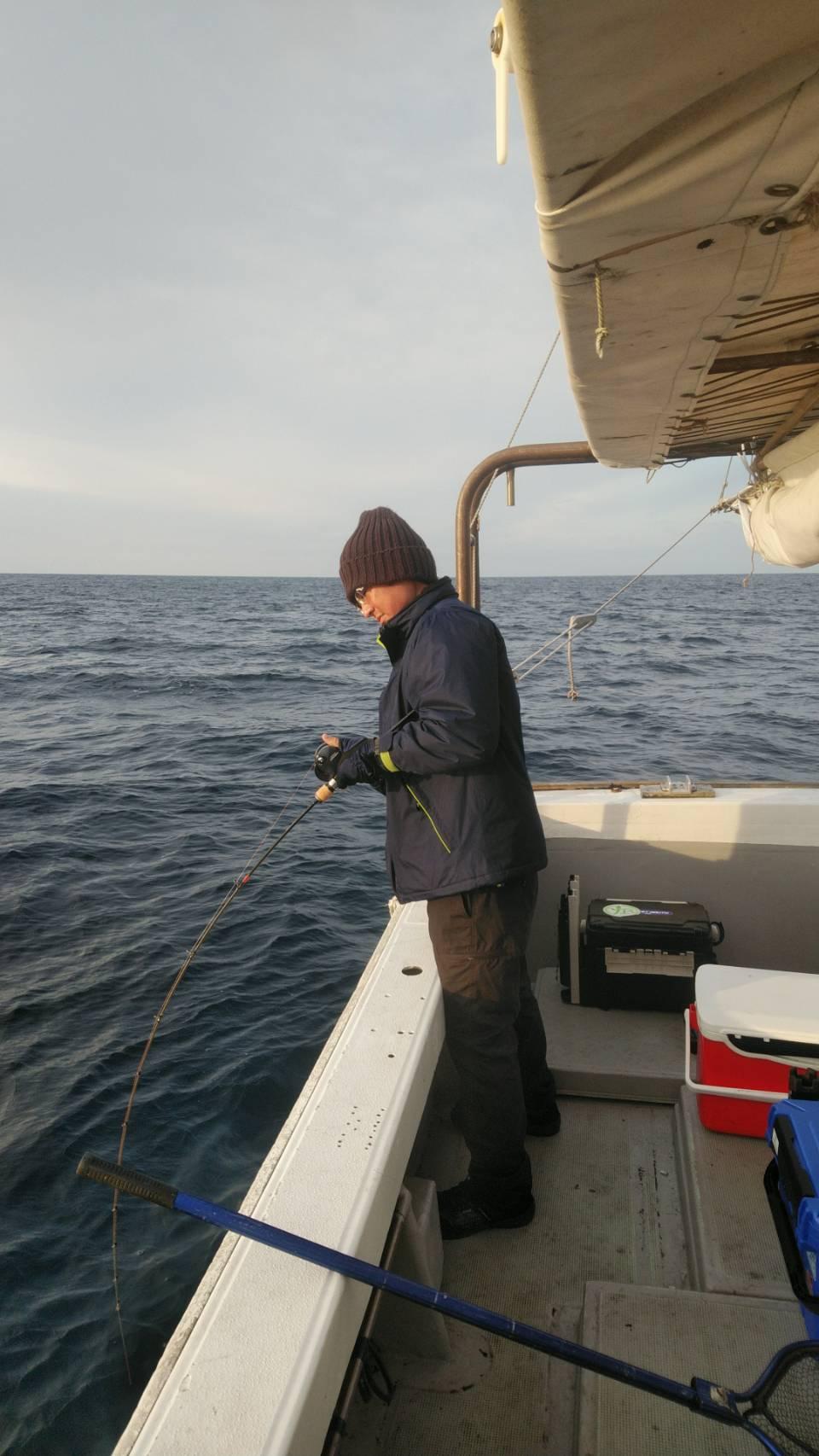 ジギング・タイラバ出船!青物からいつもの魚まで〇