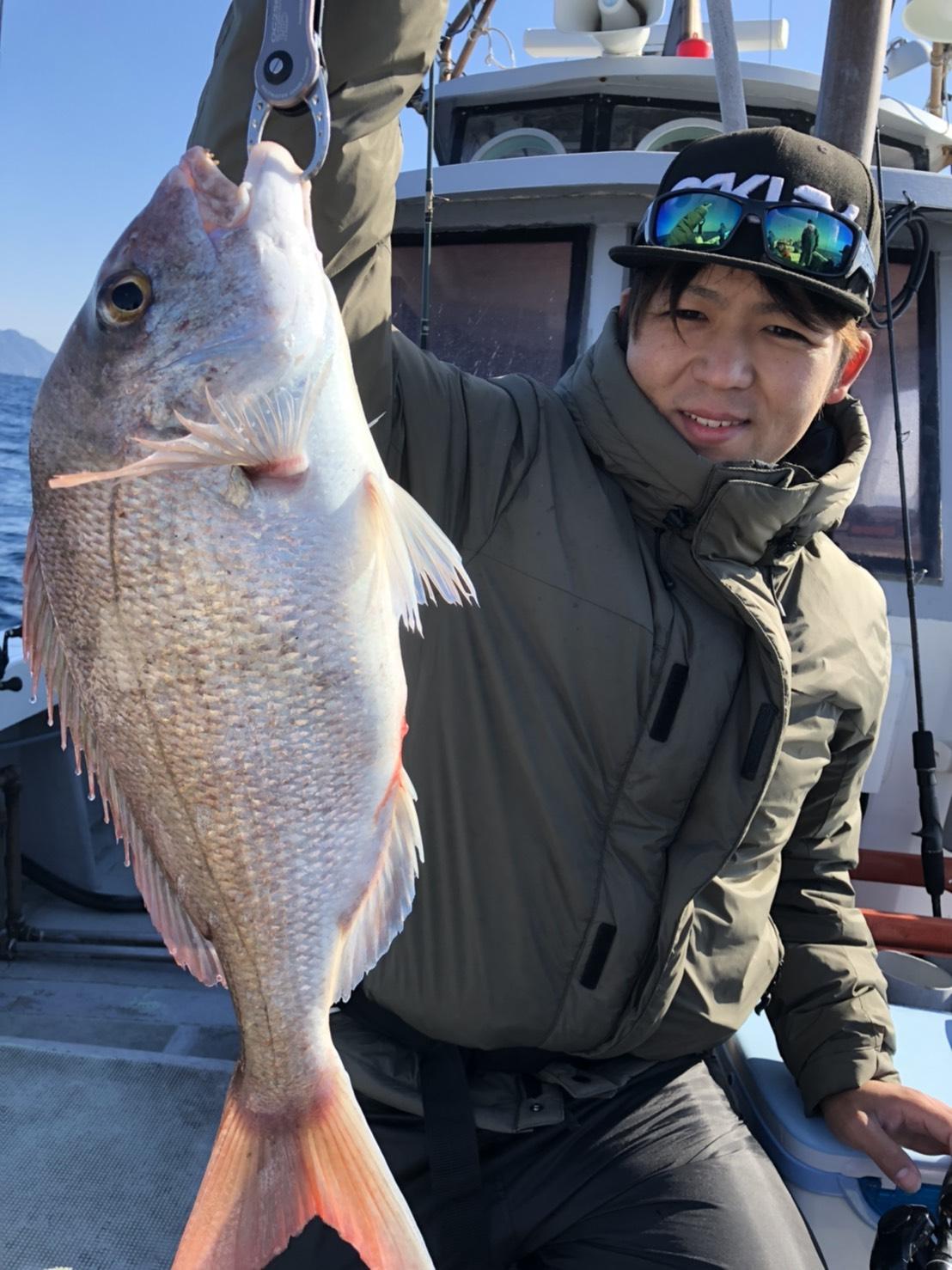 タイラバ出船!チャーターで正月魚稼ぎ便